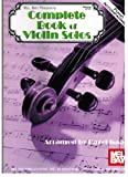 Complete Book of Violin Solos - Piano Accompaniment, Hazel Isaac, 0786636203