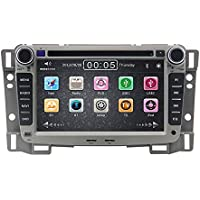 Zestech 7 inch for Chevrolet Sail 2009 2010 2011 2012 In Dash HD Touch Screen Car DVD Player GPS Navigation Stereo Support Bluetooth/SD/USB/Ipod/FM/AM Radio/DVR/3G/AV-IN/1080P with North and South America Map and free Reverse Backup Rear View Camera as Gift