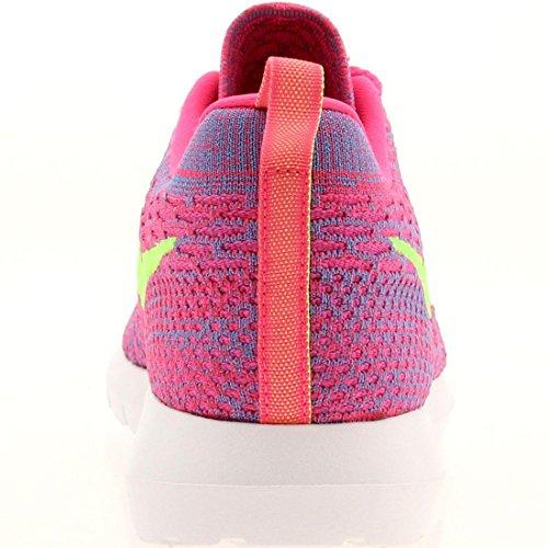 Rosherun Sneaker 677243 Flyknit clb NIKE Lime Uomo flash Basse 601 Pink Flash Pink wUZpqE