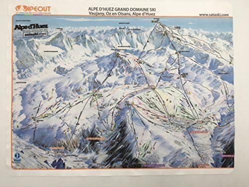 Wipeout Piste Map Lens Cloth Alpe d\'Huez: Amazon.co.uk: Sports ...