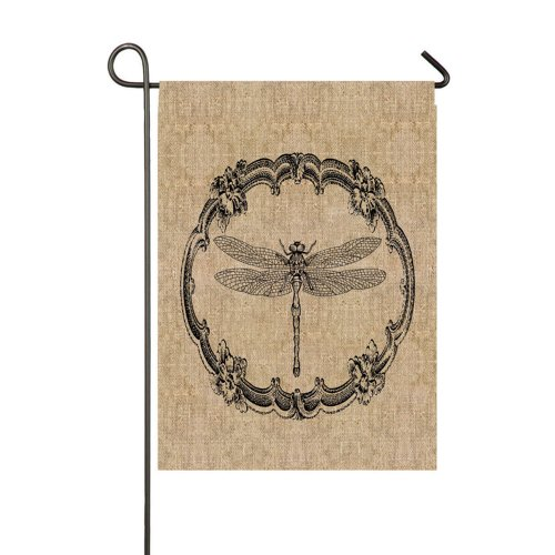 Gifted Living Dragonfly Garden Flag