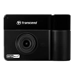 Transcend Dp550 Dashcam Surveillance Camera, Black (TS-DP550A-32V)