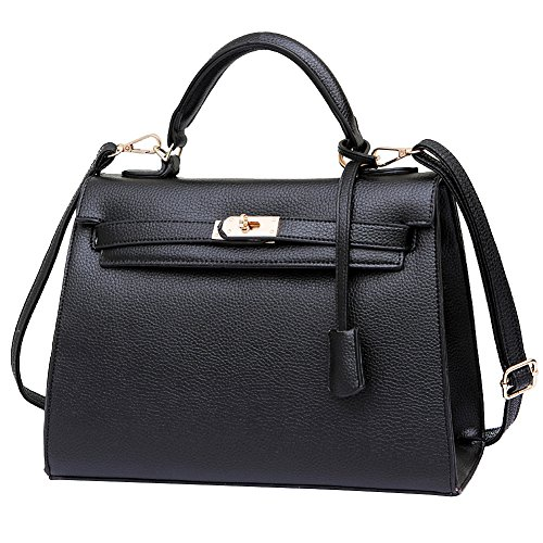 HT shoulder bags for women - Bolso de asas para mujer granate