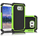 Best Shopper - Samsung Galaxy Note 5 Hybrid Rubber Hard Cover - Lime Green