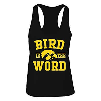 Amazon Com Fanprint Bird Is The Word Iowa Hawkeyes Official