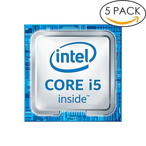 5x Original 6th Gen. Intel Core i5 Inside Sticker 18mm x 18mm with Authentic Hologram