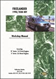 Land Rover Freelander Workshop Manual 1998-2000, Land Rover Staff, 1855206153