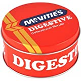 McVitie's Digestive Biscuit Tin Snack Pot - Holds 3 to 4 Round Biscuits