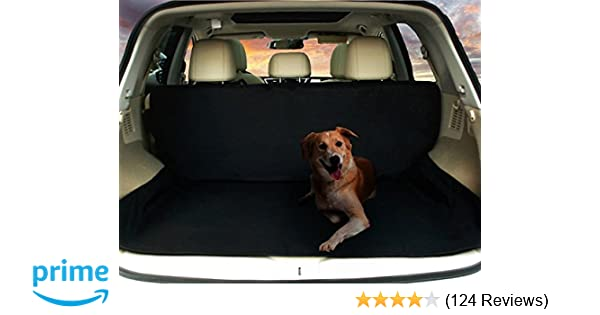 Amazon Com Deluxe Suv Cargo Liner For Pets Waterproof Nonslip
