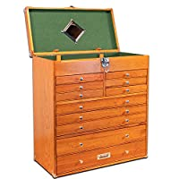 Gerstner International GI-T22 Red Oak 11-Drawer Tool Chest