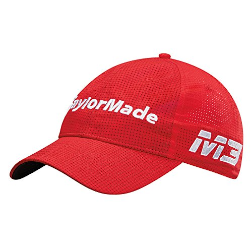 TaylorMade Golf 2018 Men's Litetech Tour Hat, Red, One Size