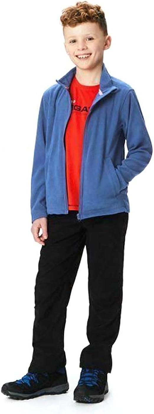Regatta Unisex Kids Professional Kids Brigade Ii Quick Drying Full Zip Fleece Fleece