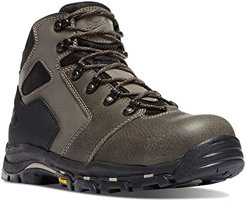 Danner Vicious 4.5 Slate Black Hot NMT 13878 Vibram Sole Oil Slip Resistant Electrical Hazard Boot Leather
