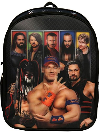 WWE World Wrestling The Raw Power Backpack,Black,One Size by WWE