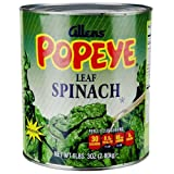 Popeyes Leaf Spinach, 99 Ounce - 6 per case.