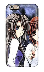 Flexible Tpu Back Case Cover For Iphone 6 - Clannad