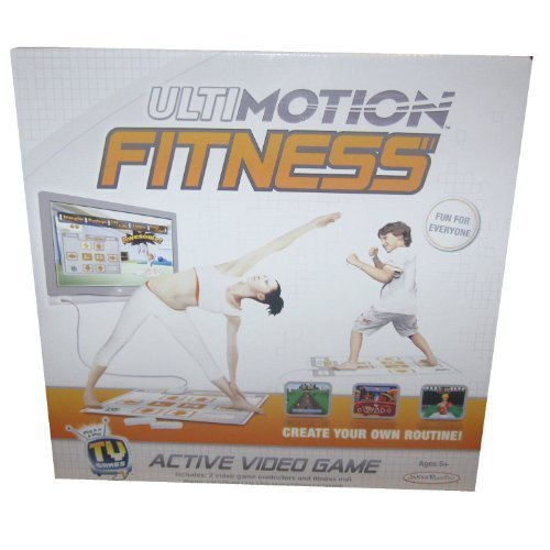 Wii Workout Mat - Ultimotion Fitness Active Video Game