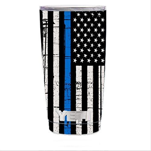 Rambler Tumbler stickers Distressed American product image
