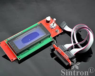 [Sintron] 2004 LCD Smart Display Controller Module with Adapter for 3D Printer Controller RAMPS 1.4 Arduino Mega Pololu Shield Arduino RepRap