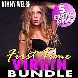 First Time Virgin Bundle: 5 Erotic Stories Audiobook