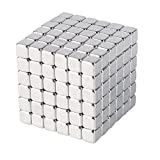 "The 3mm Magnetic Cube is 0.75"" x 0.75"" x 0.75"". Consists of 216 3mm x 3mm x 3mm pieces. Relieves stress. Limitless combinations allow you to unleash your creativity. Comes with a free ebook with clever suggestions on things you might construct using ..."