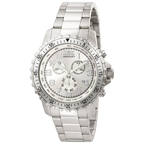 Price comparison product image Invicta Men's 6620 II Collection Chronograph Stainless Steel Silver Dial Watch