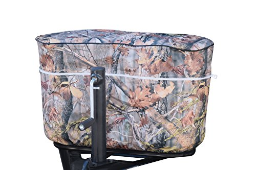 Cover Chrome Propane (ADCO 2613 Camouflage Double 30 Game Creek Oaks Propane Tank Cover)