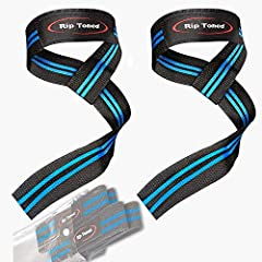 """""""Ready To See How Much Your Grip Has Been Holding You Back? Want To Maximize Your Gains ...Without Settling For Cheap, Worthless Straps? These Lifting Straps Are Your New Secret Weapon!""""-The Highest Quality, Most Comfortable & Gain-Maximi..."""