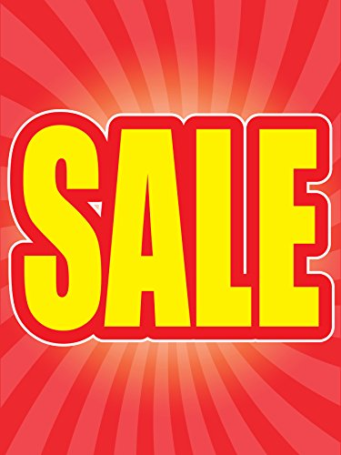 Sale Store Business Retail Display Signs, 18