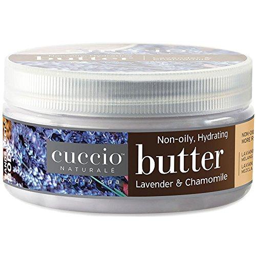 Cuccio Lavender and Chamomile Body Butter, 8 Ounce Cuccio Naturale Butter Blend