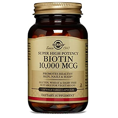 Solgar – Biotin 10,000 mcg Vegetable Capsules