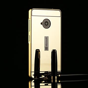 outlet store 56ace b6d36 Nokia Microsoft Lumia 535 Mirror Case Btduck Ultra Thin Luxury ...