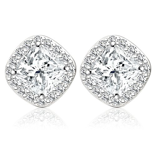 Jewels Zircona Sterling Silver Earrings