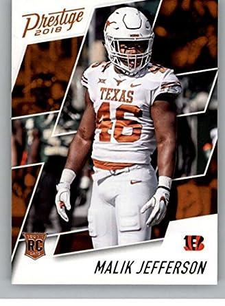 half off bb47d 73e14 Amazon.com: 2018 Prestige NFL #294 Malik Jefferson ...