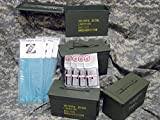 50 Cal Ammo Can Kit, 4 Pack, with ZCORR Ammo Can Liners & 40 gram Desicants
