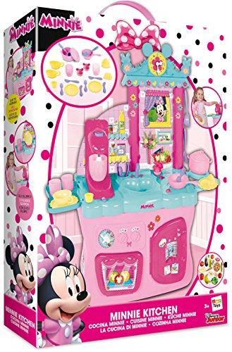 amazon com disney junior minnie mouse kitchen toys games