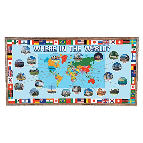 (Around the World Bulletin Board Set)