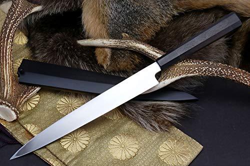 Yoshihiro VGYA300SH Stainless Hongasumi Yanagi Sushi Sashimi Japanese Chef knife, 11.8'', Rosewood by Yoshihiro (Image #2)