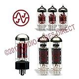 JJ Tube Upgrade Kit For Dr. Z Maz 18 Jr. Non Reverb Amps EL84 ECC83S GZ34