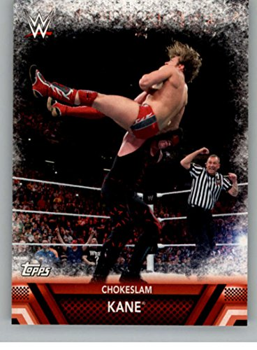 2017 Topps WWE Then Now Forever Finishers and Signature Moves #F-14 Kane Chokeslam