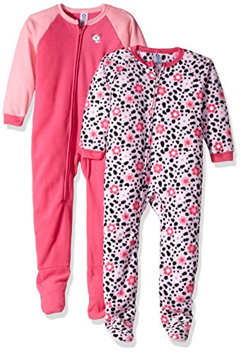 Gerber Baby 2 Pack Blanket Sleeper, Puppies, 12 (Girls Footed Sleeper Pajama)