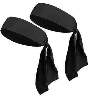 Head Tie Headbands for Men Women Kids Girls Boys, Sports Headbands Bulk Pirate Bandana Head