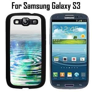 Nebula Ripple Water Custom Case/ Cover/Skin *NEW* Case for Samsung Galaxy S3 - Black - Rubber Case (Ships from CA) Custom Protective Case , Design Case-ATT Verizon T-mobile Sprint ,Friendly Packaging - Slim Case