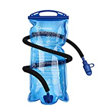 Miracol 2L Hydration Bladder Water Reservoir - Insulated Flow Tube - Non Toxic Easy Clean Wide Opening - Best for Cycling Hiking Camping Backpack