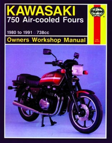amazon com kawasaki 750 air cooled fours haynes repair manual 1980 rh amazon com 1975 Honda 750 1980 Honda 750 Specs