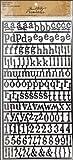Idea-Ology Alpha Parts-Newsprint 159 Alphas & Punctuation