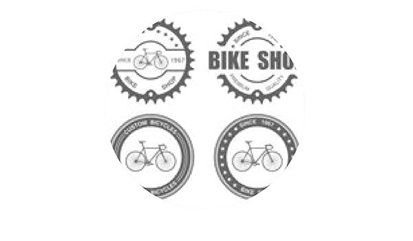 alfombrilla de ratón Etiqueta de bicicleta conjunto template ...