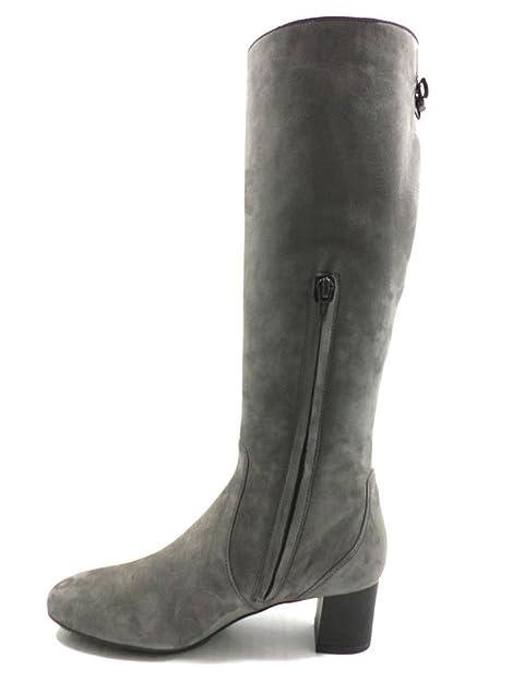 scarpe donna HOGAN stivali grigio camoscio AZ202: Amazon.it: Scarpe e borse