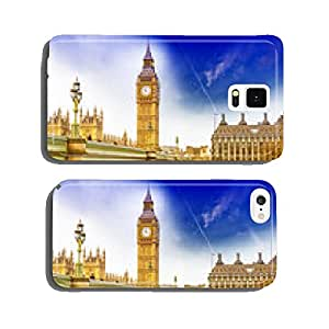 Big Ben with Westminster bridge and EU Parlament in London cell phone cover case iPhone5