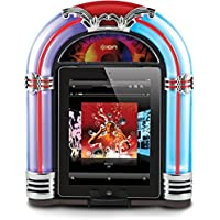 Ion ISP18 Retro Jukebox Dock Speaker for iPhone & iPod with 30-Pin Connector (Certified Refurbished)